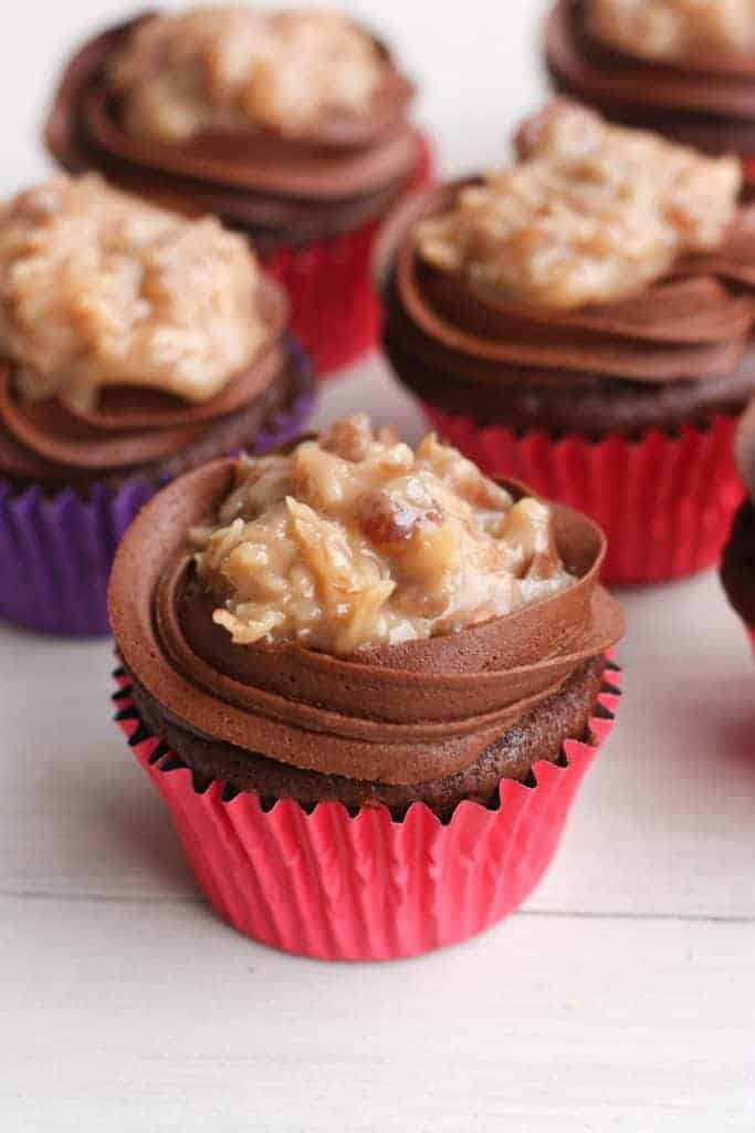 The BEST German Chocolate Cupcakes! | Tastes Better From Scratch