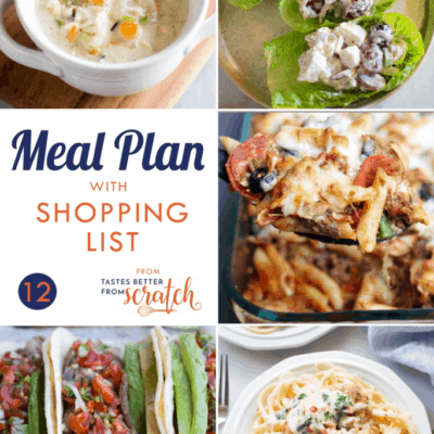 Weekly Meal Plan (12)