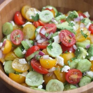 Tomato Cucumber Avocado Salad   Tastes Better From Scratch