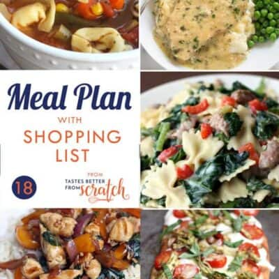 Weekly Meal Plan (18)