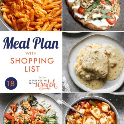 Weekly Meal Plan (18)