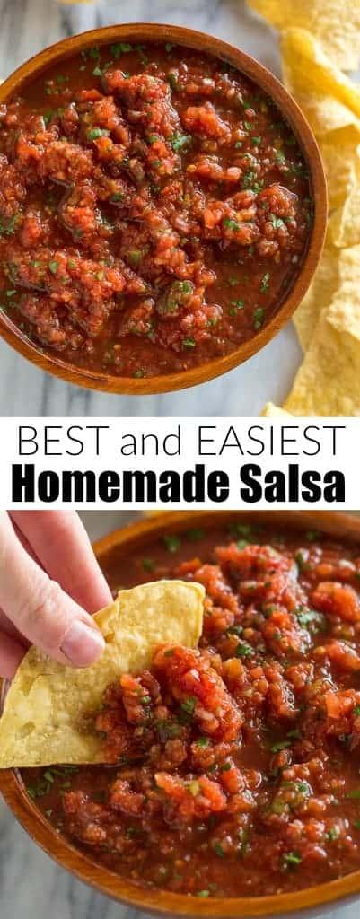 Best Five Minute Salsa Tastes Better From Scratch