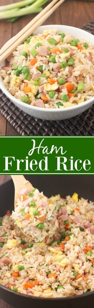Better than take-out Ham Fried Rice! | Tastes Better From Scratch