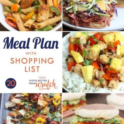 Weekly Meal Plan (20)
