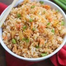 Easy homemade Kimchi Fried Rice | Tastes Better From Scratch
