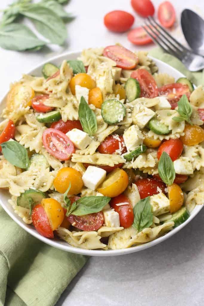 Pesto Pasta Salad Recipe Tastes Better From Scratch