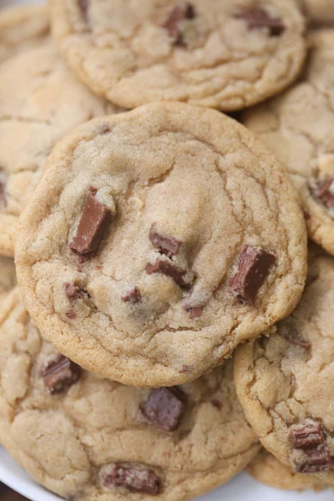 Butter Chocolate Chunk Cookies. The BEST chocolate chip cookies ...