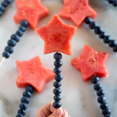 Fruit Sparklers