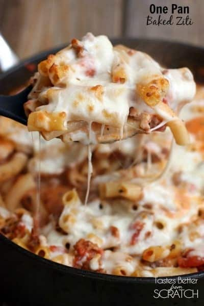 15 Easy One Pan Skillet Meals . Includes easy, pasta, rice, chicken, lasagna, and more simple dinner ideas your family will love.   Tastes Better From Scratch