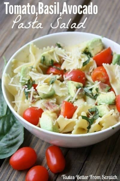 15+ Pasta Salad Recipes. Includes easy summer pasta salad recipes that your family will love! | Tastes Better From