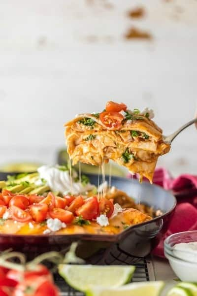 15 Easy One Pan Skillet Meals . Includes easy, pasta, rice, chicken, lasagna, and more simple dinner ideas your family will love. | Tastes Better From Scratch