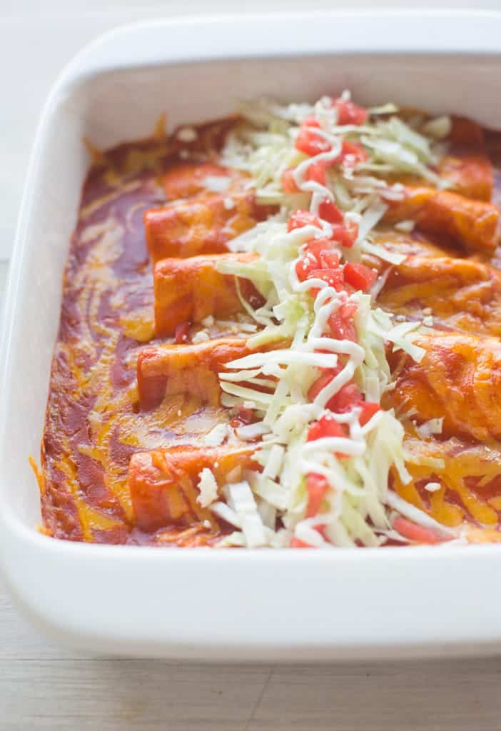 The BEST homemade Cheese Enchiladas! Our favorite authentic cheese enchiladas are easy, fast and insanely delicious! | Tastes Better From Scratch