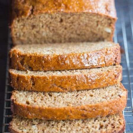 Cinnamon Applesauce Bread