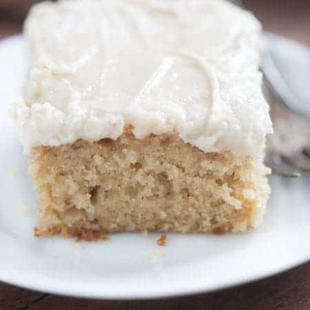 Apple Spice Cake with Brown Sugar Cream Cheese Frosting | Tastes Better From Scratch