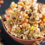 Peanut Butter Popcorn Party Mix | Tastes Better From Scratch
