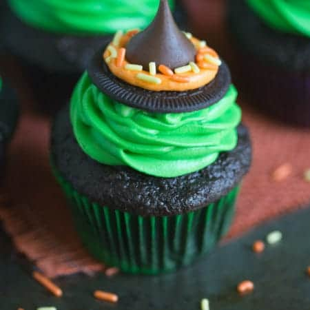 Witch Hat Cupcakes | Tastes Better From Scratch