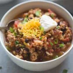 Spicy Ancho Turkey Chili | Tastes Better From Scratch