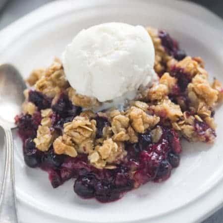 Triple Berry Crisp | Tastes Better From Scratch