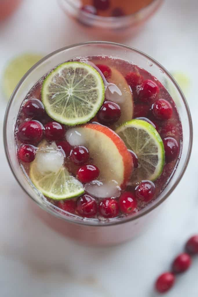 Sparkling Cranberry Apple Punch | Tastes Better From Scratch