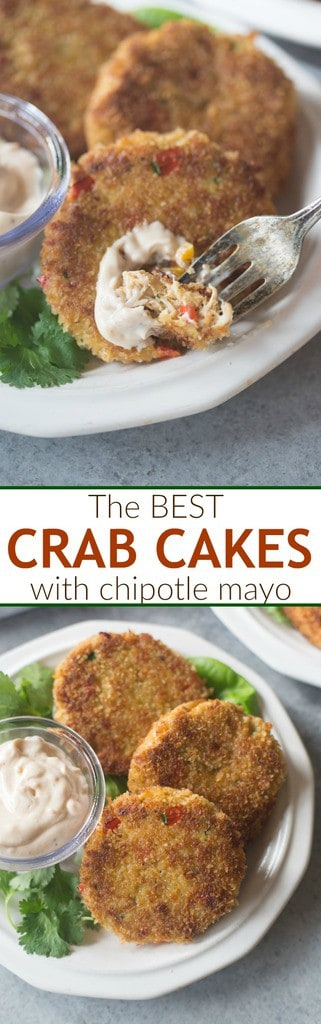 These easy homemade Crab Cakes couldn't be more simple or DELICIOUS! Perfect for holiday parties or entertaining. | Tastes Better From Scratch