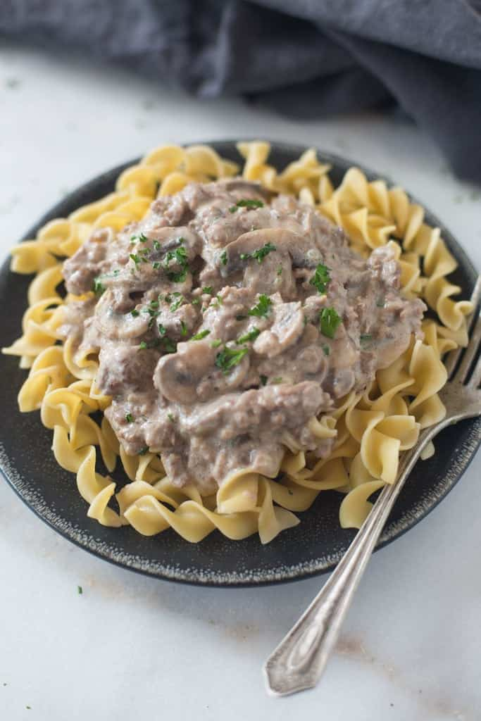 Easy Beef Stroganoff Tastes Better From Scratch