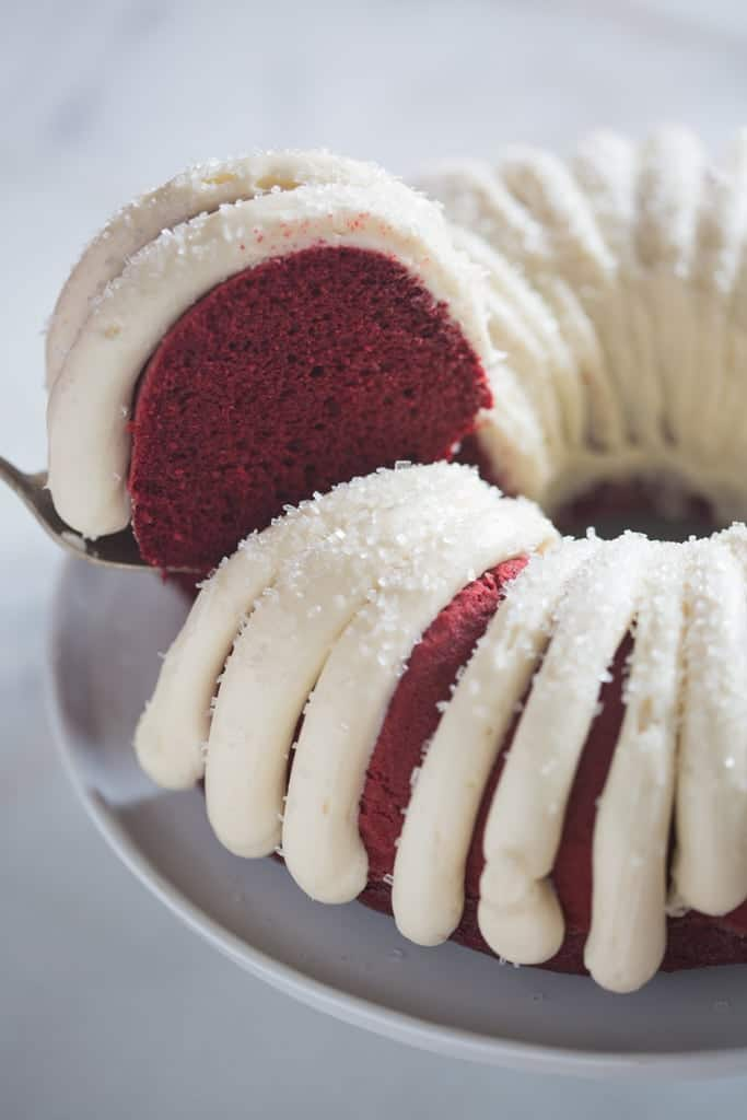 red velvet bundt cake tastes better from scratch