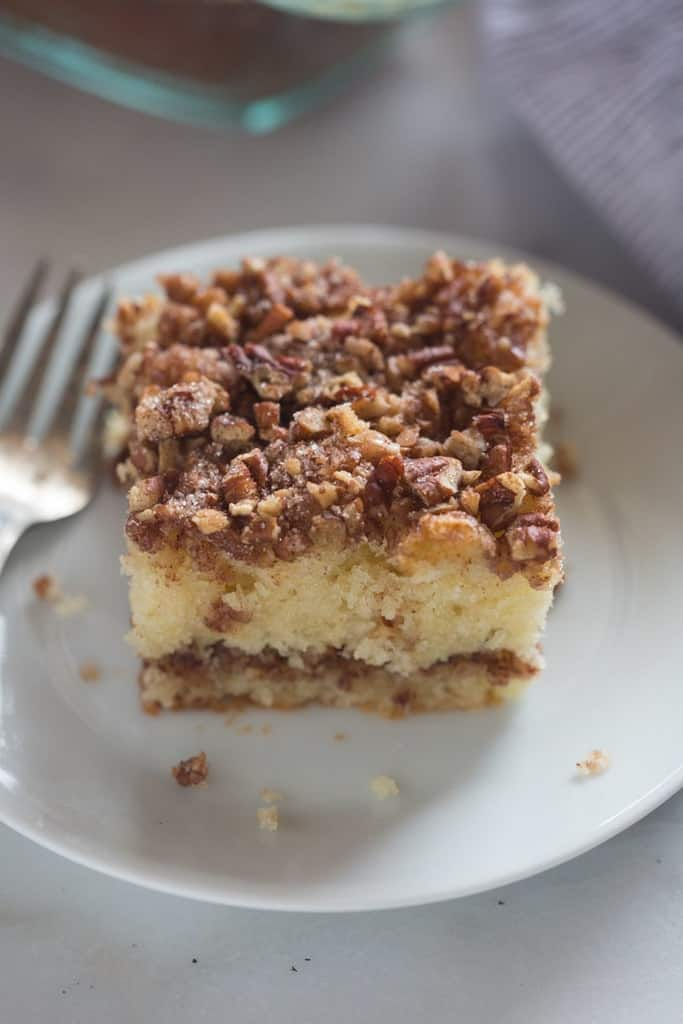 Make Cinnamon Coffee Cake From Scratch