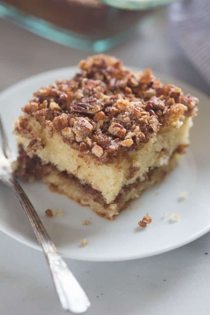 Sour Cream Coffee Cake Recipe From Scratch