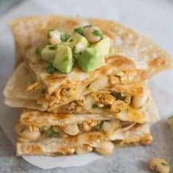 Taco Chicken Quesadillas