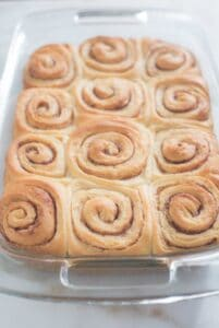 Not only are these Overnight Cinnamon Rolls extremely convenient (you get to make them the night before and they're ready to stick in the oven by morning!) they make the BEST big, fluffy cinnamon rolls! | Tastes Better From Scratch