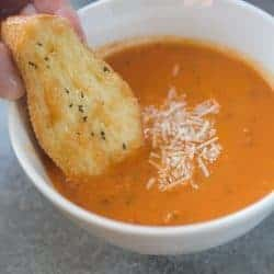 Roasted Tomato Basil Soup | Tastes Better From Scratch