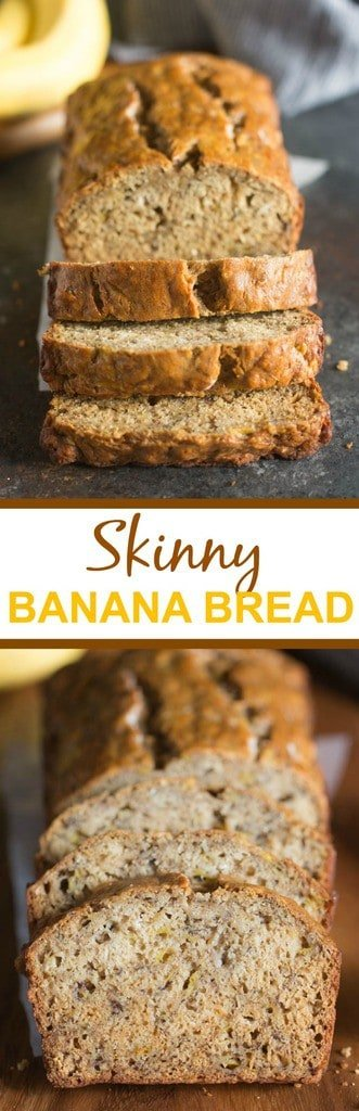 Skinny Banana Bread Tastes Better From Scratch