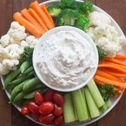 Easy Vegetable Dip | Tastes Better From Scratch