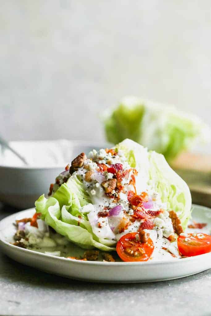 Classic Wedge Salad Tastes Better From Scratch