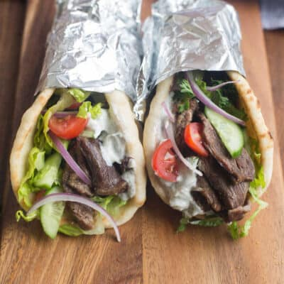 Beef Gyros {Slow Cooker or Instant Pot)