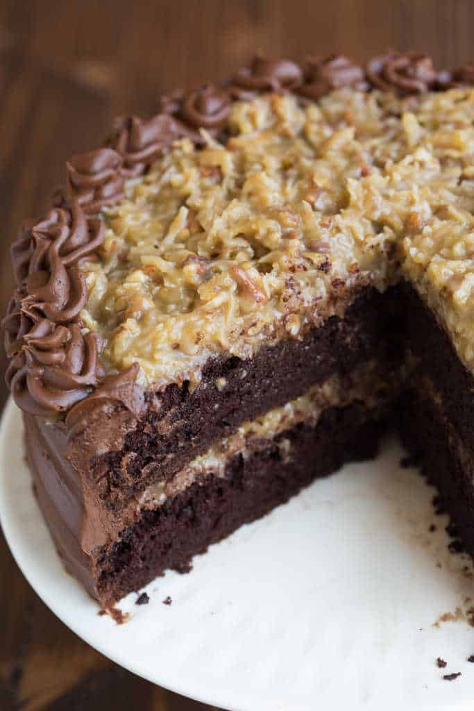Astounding Homemade German Chocolate Cake Tastes Better From Scratch Funny Birthday Cards Online Hendilapandamsfinfo