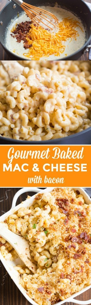 Gourmet Baked Mac And Cheese Tastes Better From Scratch