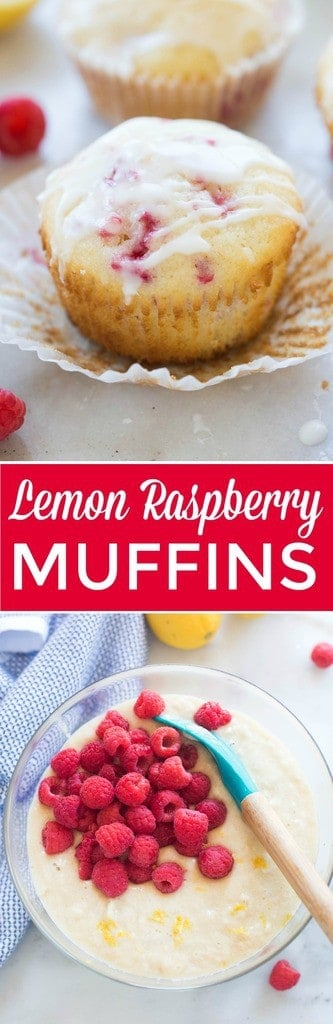 how to make raspberry muffins from scratch