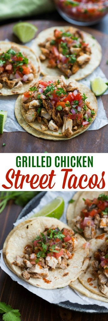 Grilled Chicken Street Tacos Tastes Better From Scratch