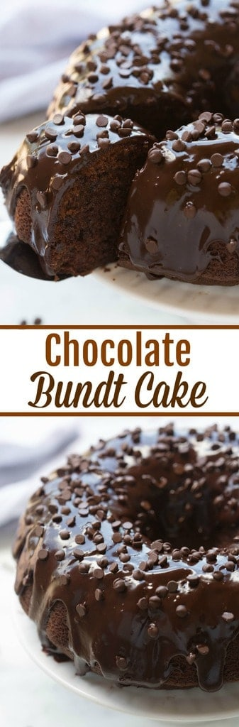 Chocolate Bundt Cake Tastes Better From Scratch