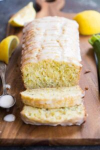Lemon Zucchini Bread is one of our favorite quick bread recipes during the summer months! This super flavorful and moist bread tastes great for dessert, as a snack, or even for breakfast or brunch. | tastesbetterfromscratch.com