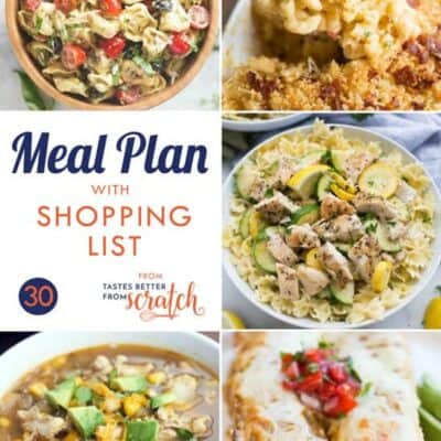 Weekly Meal Plan (30)