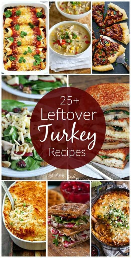 Leftover Thanksgiving Turkey Recipes | tastesbetterfromscratch.com