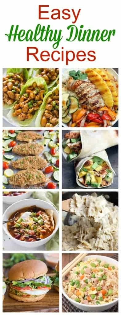 Easy, Healthy Dinner Recipes