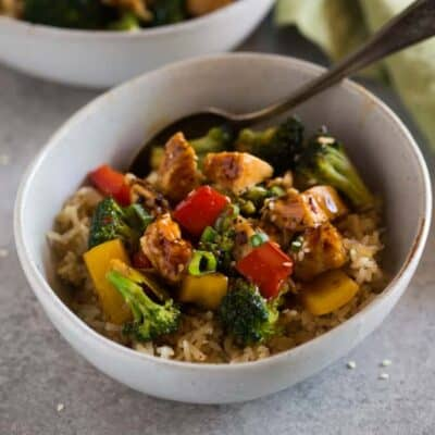 Instant Pot Chicken Teriyaki Bowls