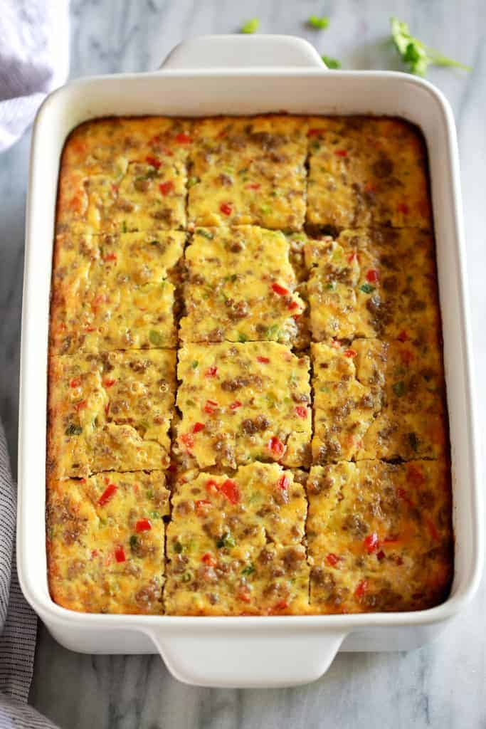 Breakfast Casserole Tastes Better From Scratch
