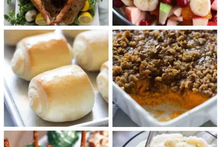 Thanksgiving Dinner Ideas - tastesbetterfromscratch.com