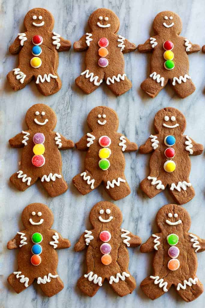 It's just an image of Massif Gingerbread Men Image