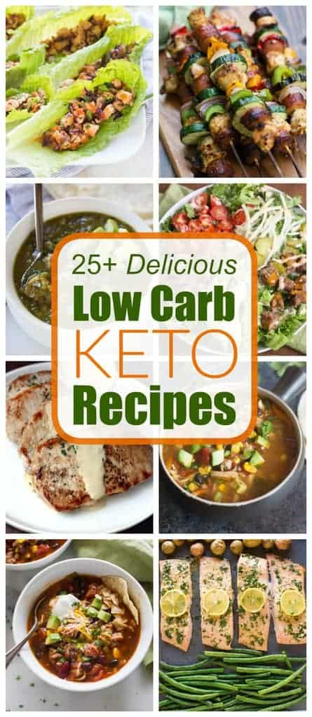 25+ Low Carb Keto Recipes, including keto chicken dinners, keto soups, and tons of delicious low carb recipes. - tastesbetterfromscratch.com