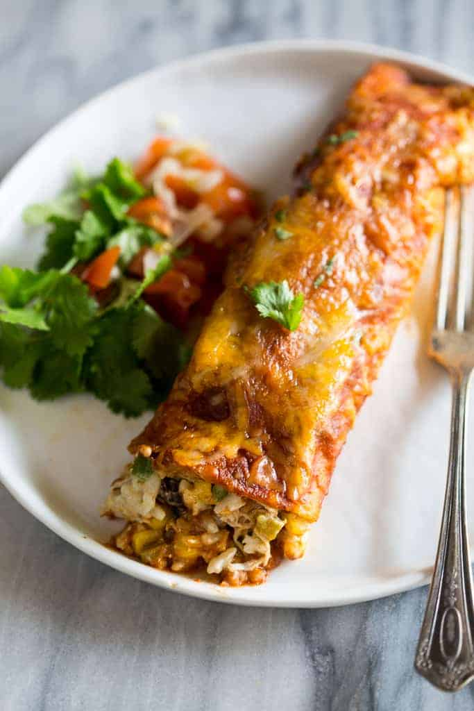 Loaded Chicken Enchiladas Tastes Better From Scratch